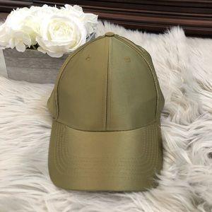Steve Madden women's olive green hat